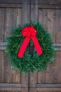 real christmas wreaths