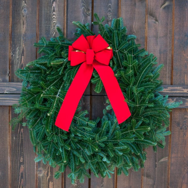 real christmas wreaths
