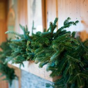 real fraser fir garland